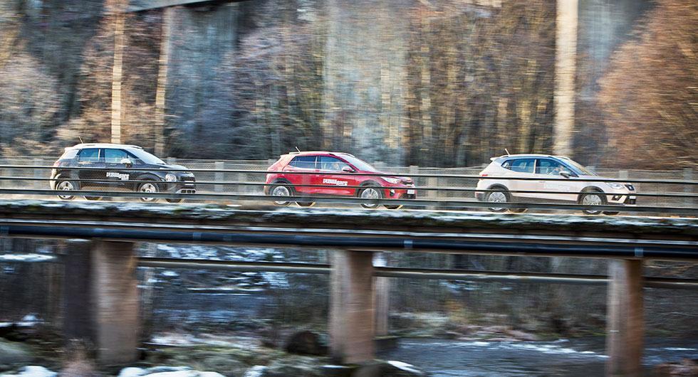 Ljustest: Citroën C3 Aircross, Kia Stonic, Seat Arona (2017)