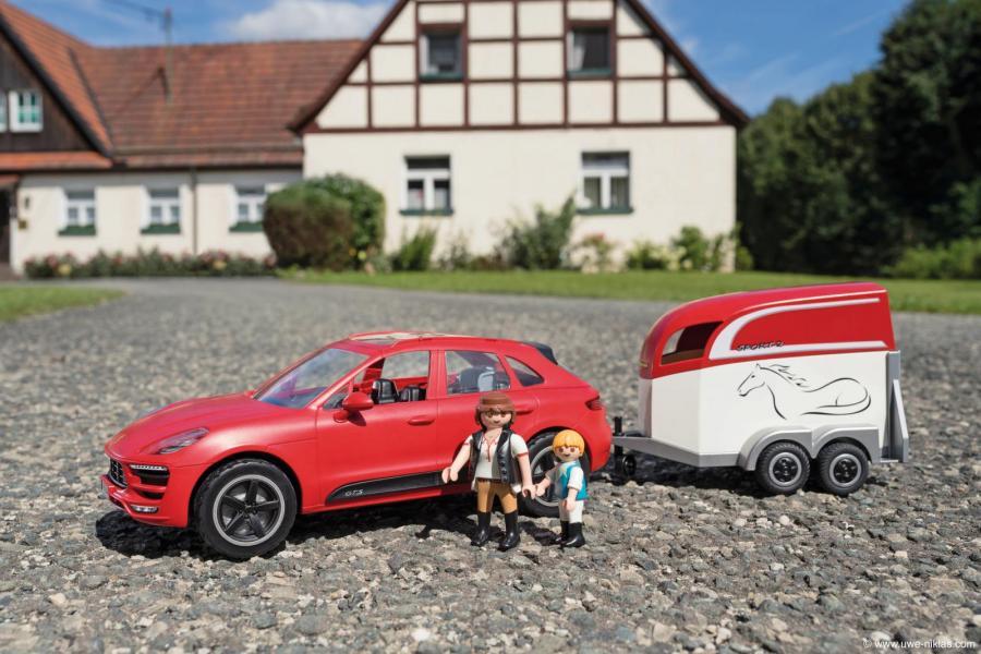 Porsche Macan från Playmobil.