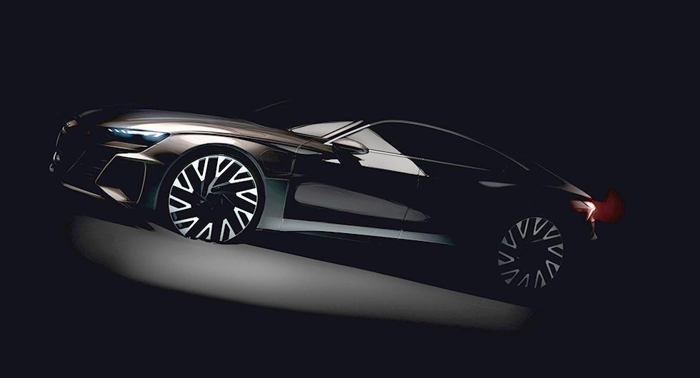 Audi planerar eldriven GT