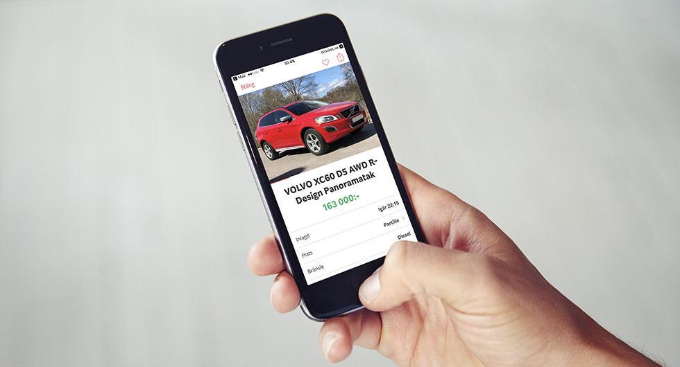 Utbudet av dieselbilar ökar på köp-ochsälj-sajten Blocket.