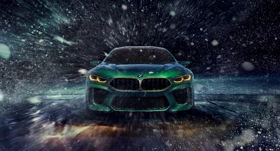 BMW M8 Gran Coupe kommer 2019