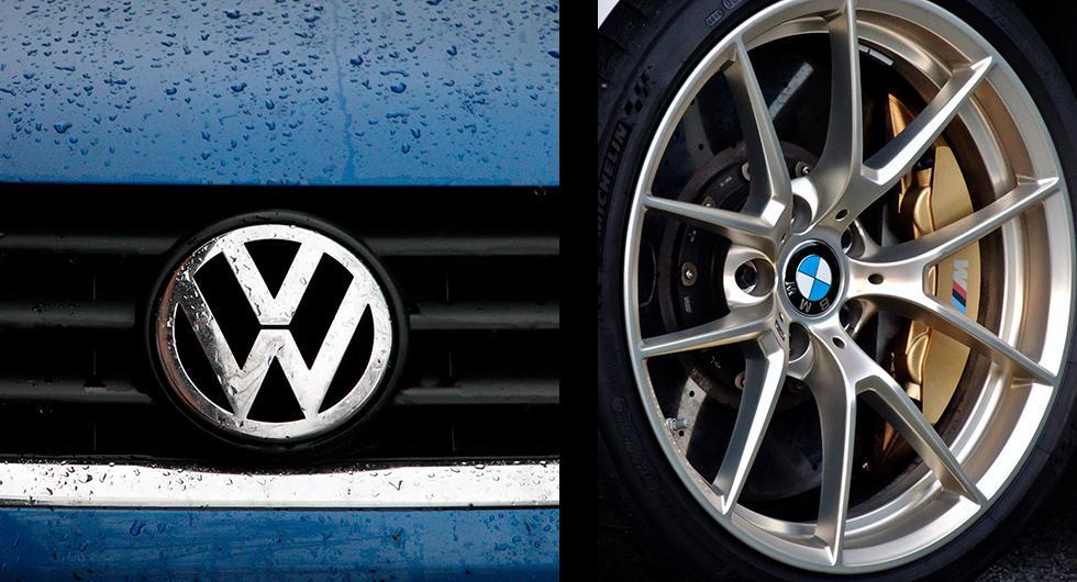BMW:s och Volkswagens kontor genomsökta