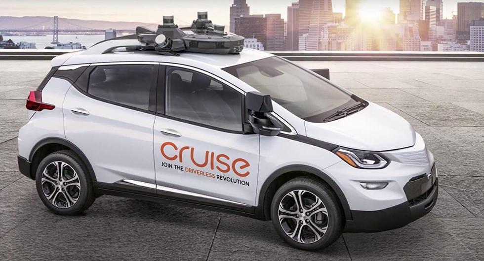 Chevrolet ägs av General Motors och deras satsning på tester av självkörande bilar heter Cruise.