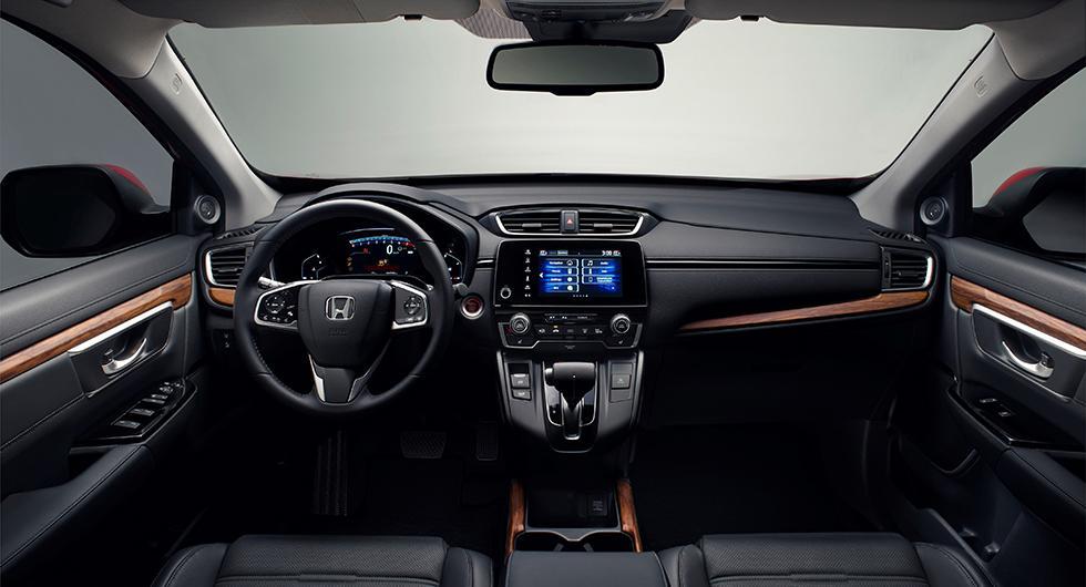 CR-V som hybrid gör Europadebut