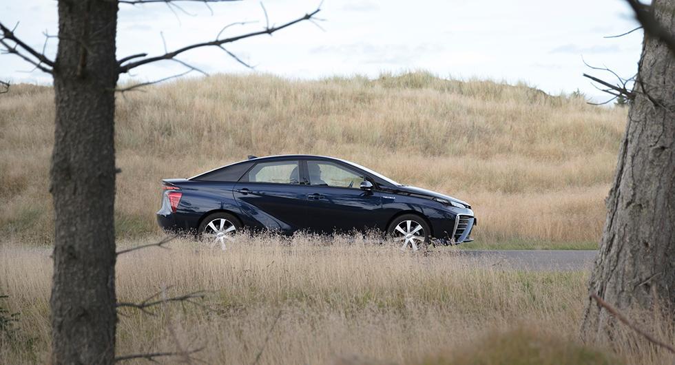 Vätgasbilen Toyota Mirai är en av 40 bilmodeller som rekommenderas av motororganisationen Gröna Bilister.