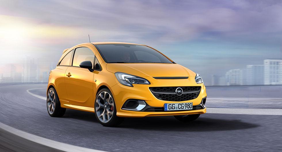Opel Corsa GSi – sportig smålbil