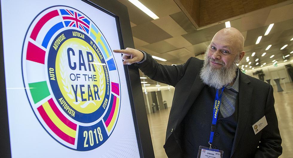 Tommy Wahlström representerar Vi Bilägare i Årets Bil-juryn.