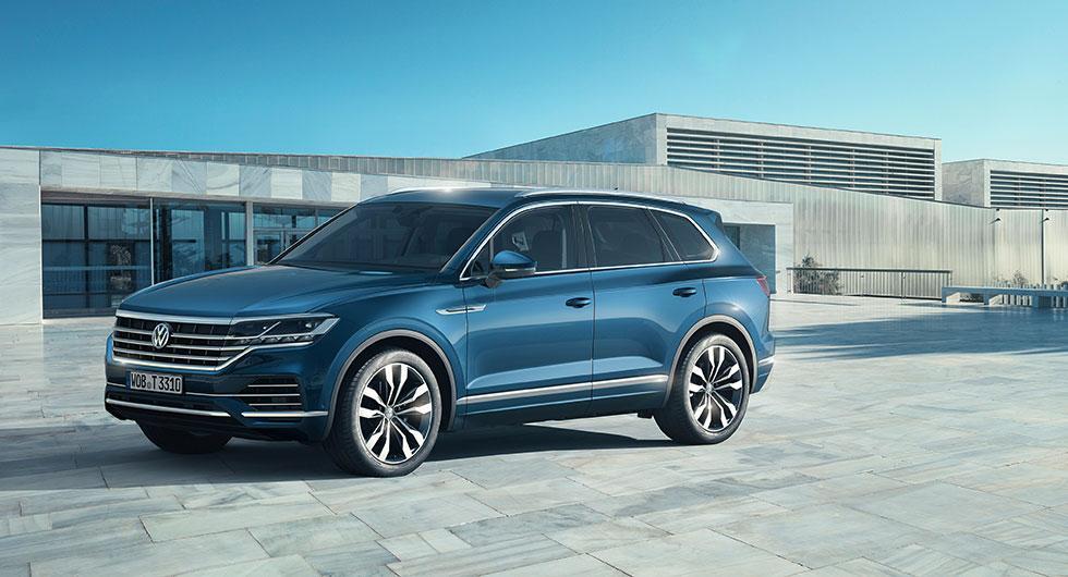 Officiell: Volkswagen Touareg