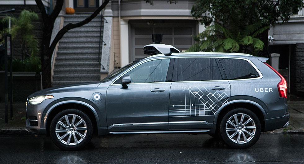 Uber stängde av Volvos säkerhetssystem