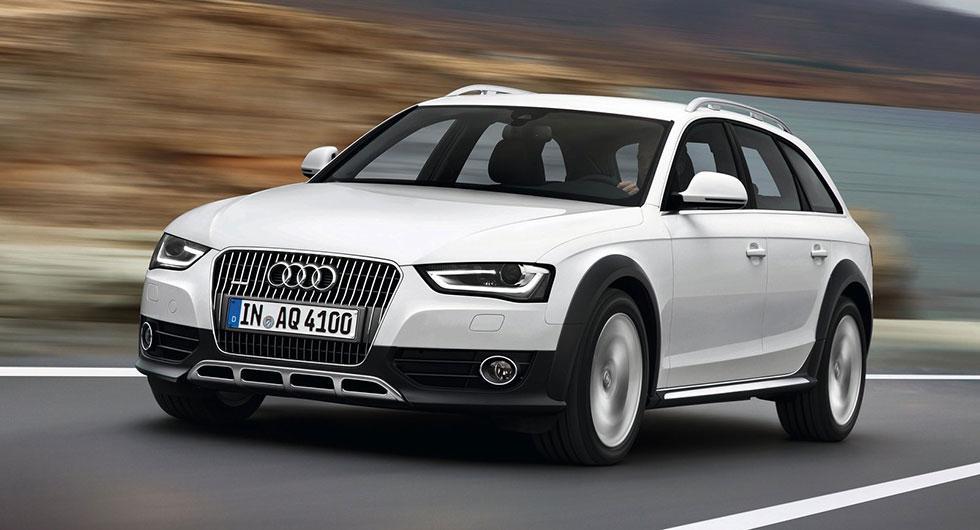 Audi A4 Allroad från 2013 med bensinmotor är en av bilmodellerna vars kylvätskepump måste åtgärdas.