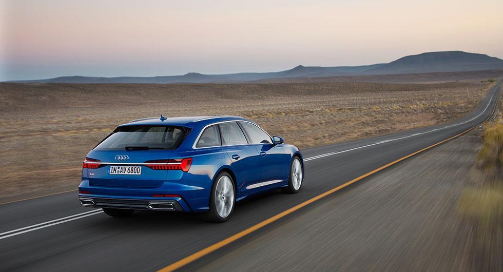 Audi A6 som kombi