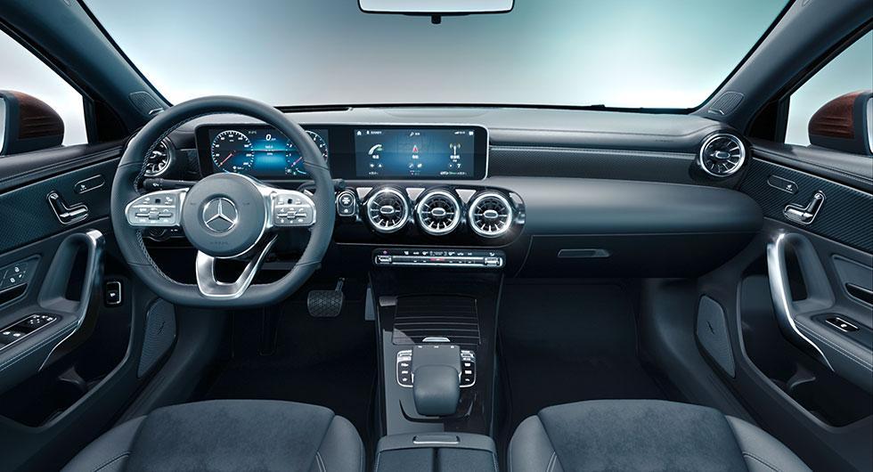 Mercedes A-klass som lång sedan
