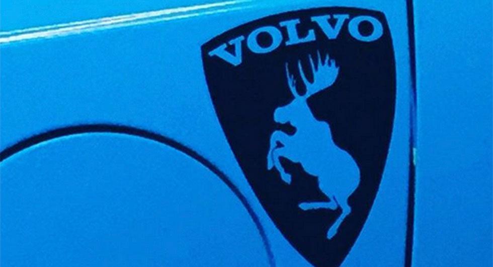 Volvo stoppar dekal med stegrande älg