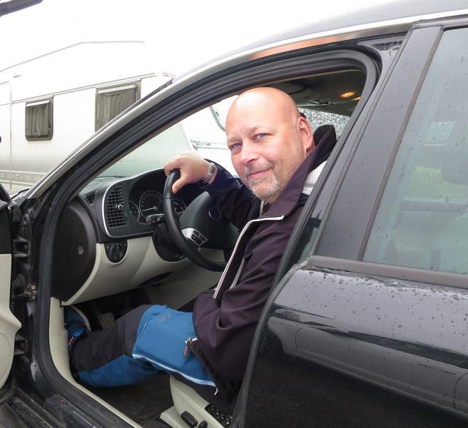 Anders Wisén lottades som förstapristagare bland dem som deltagit i årets AutoIndex-undersökning.