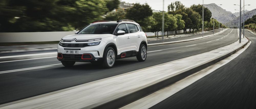 Europapremiär för Citroën C5 Aircross