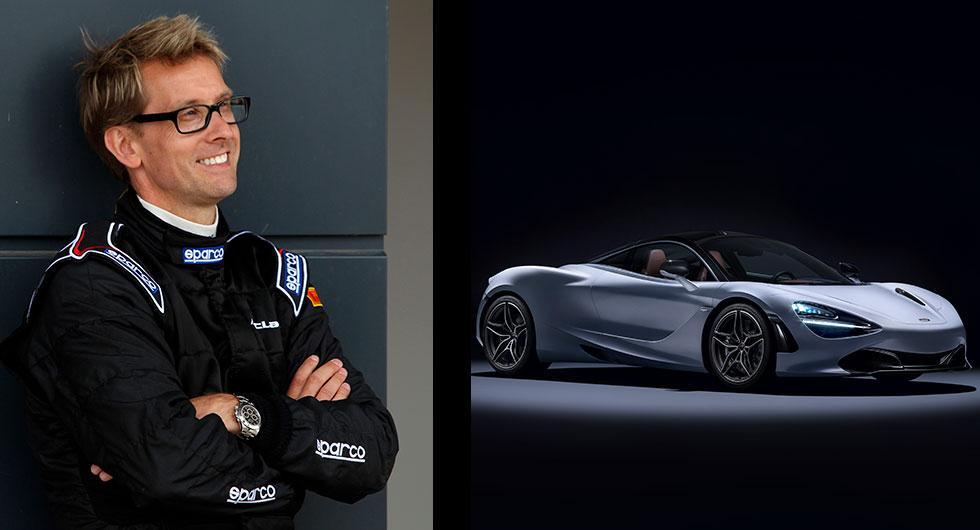 Kenny Bräck har tidigare hjälpt McLaren att utveckla sportbilen 720S. Nu blir han fast anställd som testchef.