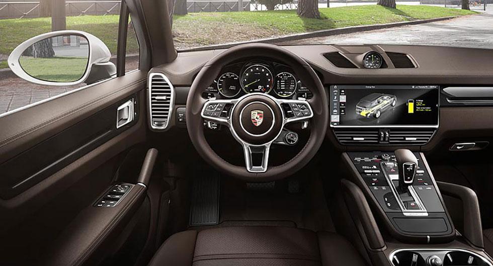 Laddbar Porsche Cayenne