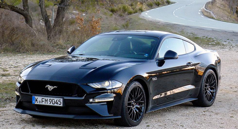 Muskelmassa. Ford Mustang har blivit en storsäljare i Europa.