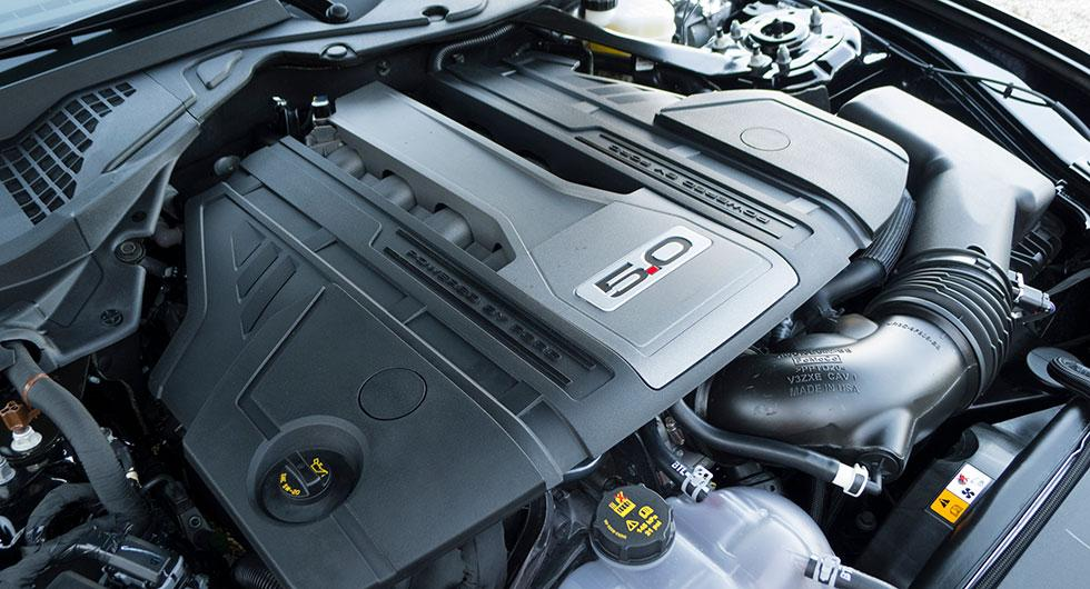 Femlitersmotorn är en modern konstruktion som nu fått ännu mer effekt, 450 hk mot 435 tidigare.