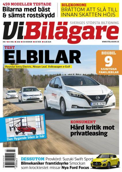 Vi Bilägare 07/2018 – nytt nummer
