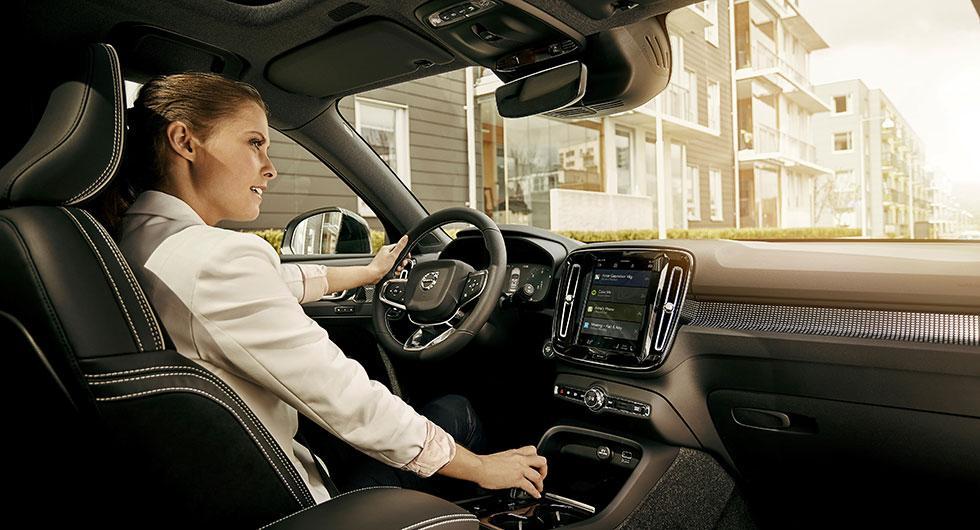Röststyrd Google-assistent i Volvobilar