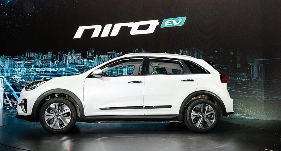 Insidan på Kia Niro EV