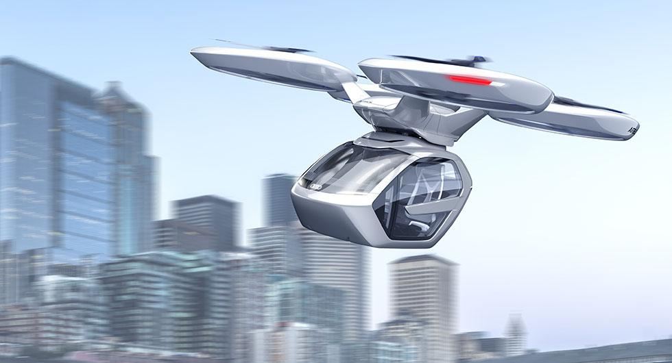 Audi ska testa flygande bilar