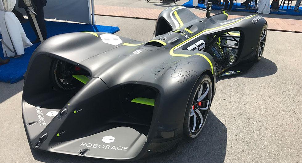 Roborace – självkörande motorsport