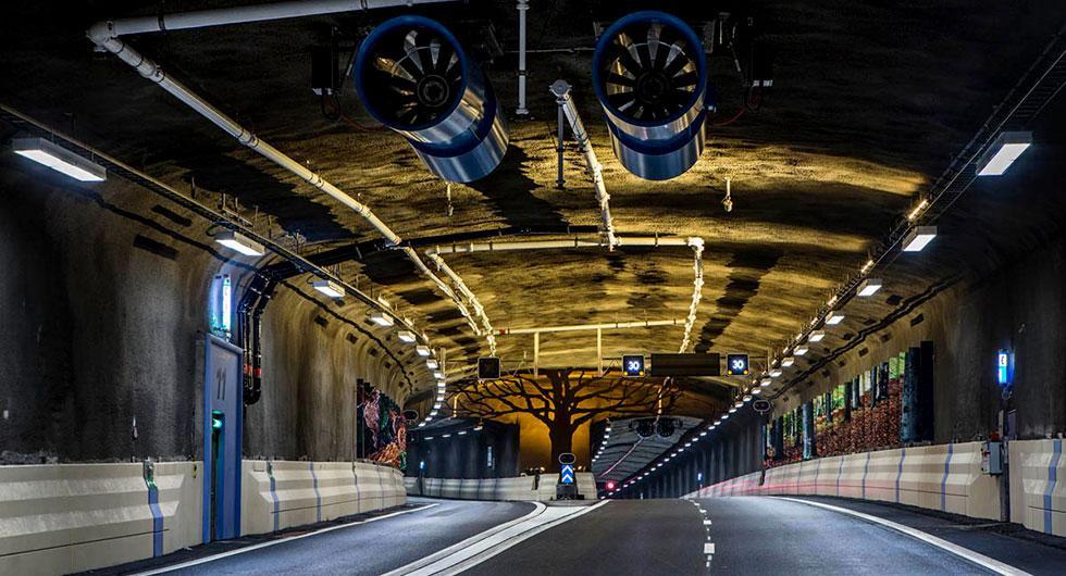 Norra länken i Stockholm är en av fyra vägtunnlar där det installeras hastighetskameror i sommar.