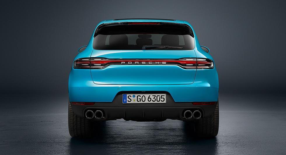 Porsche Macan förfinas