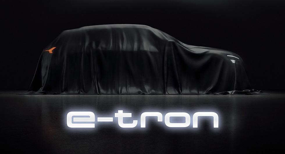 Audi e-tron visas i september