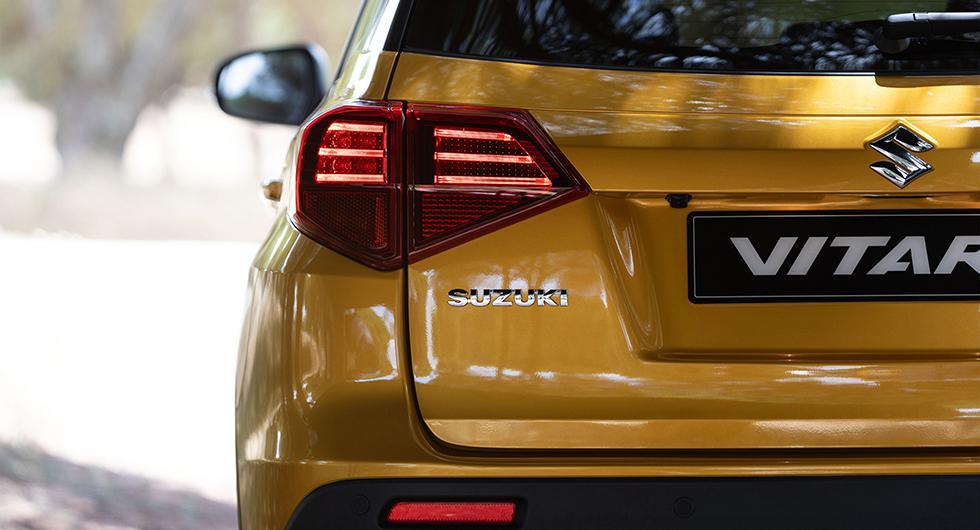 Suzuki uppdaterar Vitara