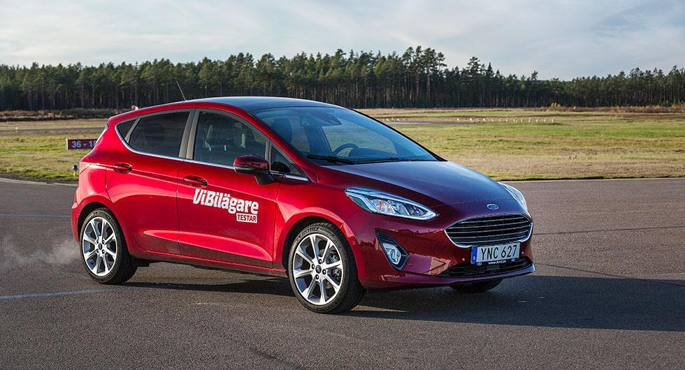 Bilfrågan: Rostrisk på vår nya Fiesta?