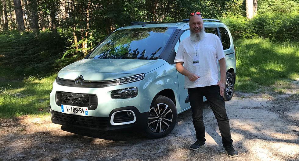 Citroën Berlingo – rapport från provkörningen (2018)