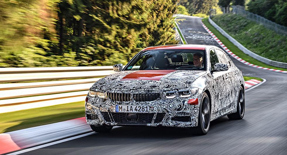 Nya BMW 3-serien snart här