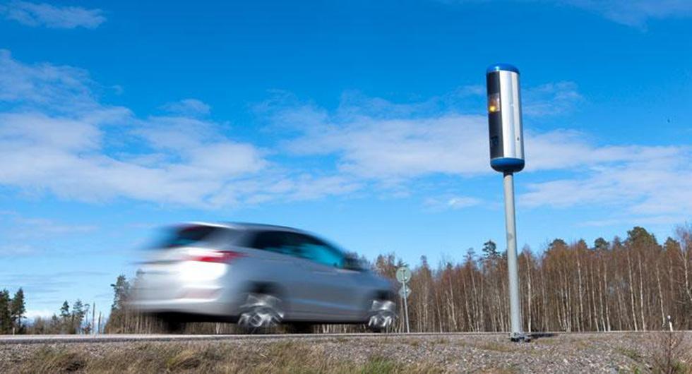 Vid fartkameror slipper 99 procent av fortkörare böter