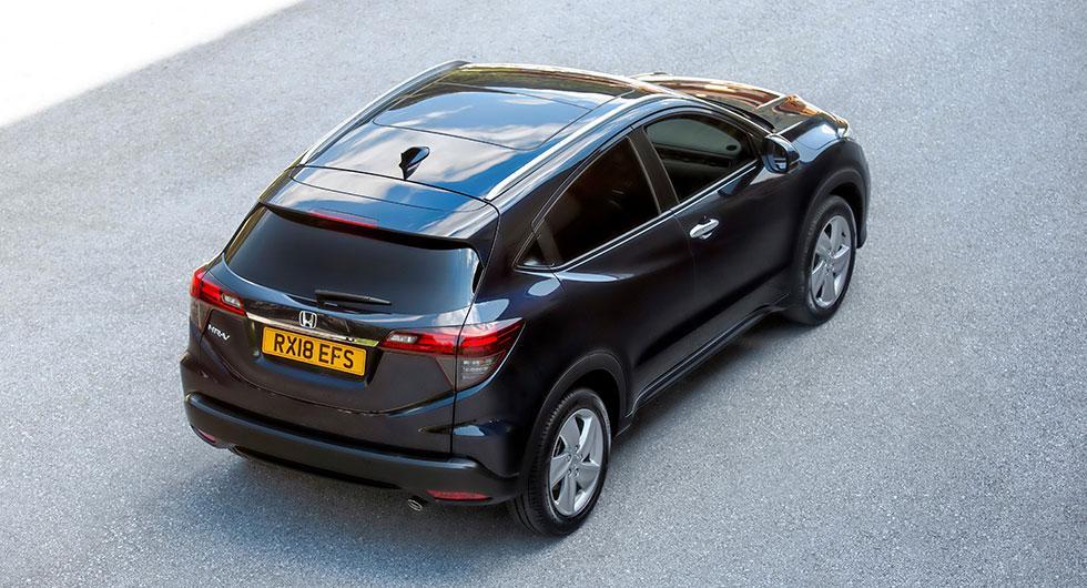 Honda tystar ner HR-V