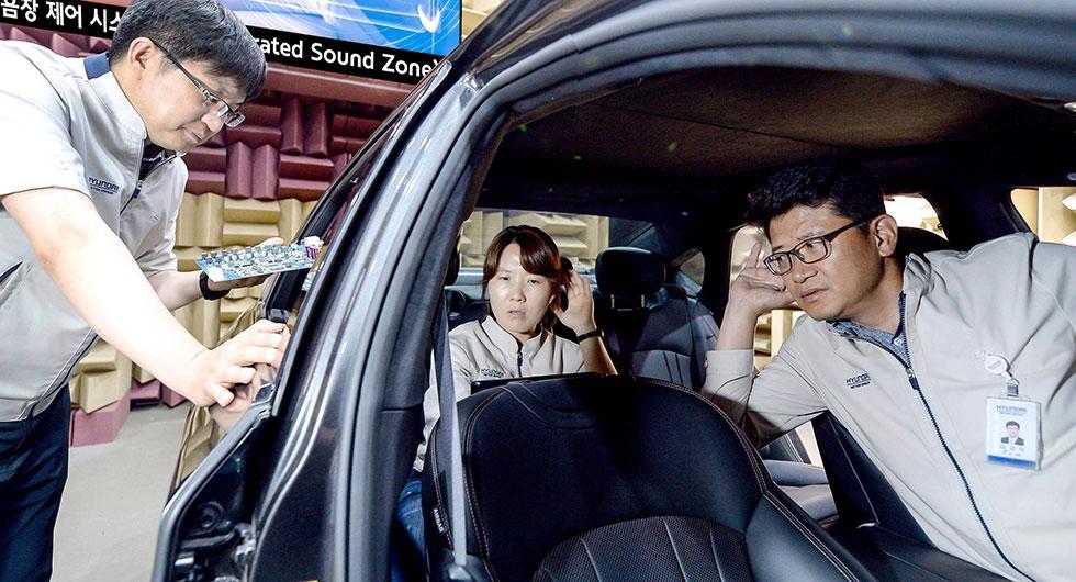 Kia och Hyundai ljudisolerar