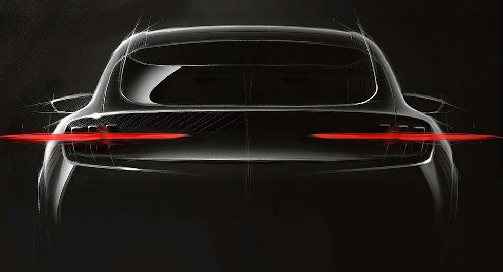 Ford släpper Mustang-inspirerad elbil 2020
