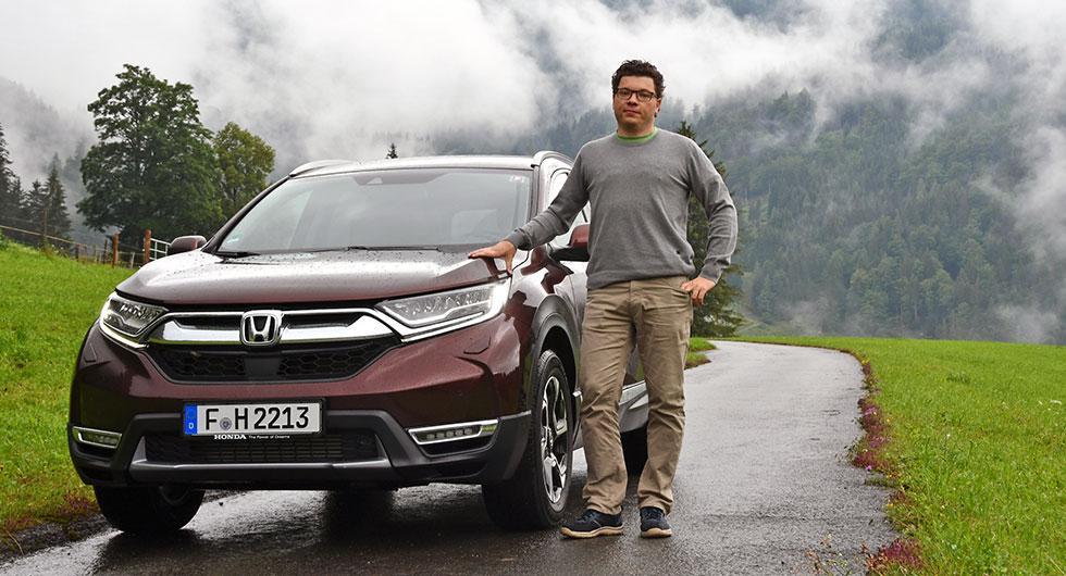 Provkörning: Honda CR-V (2018)