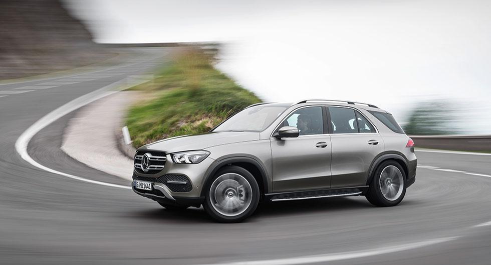 Här är nya Mercedes GLE