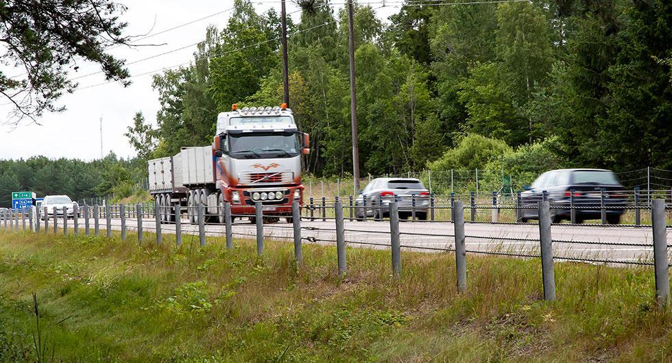 Hastighetskoll på europavägar