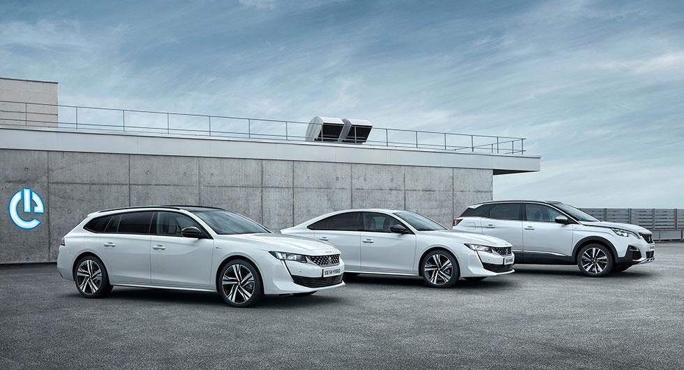 Peugeot 3008 och 508 blir laddbara