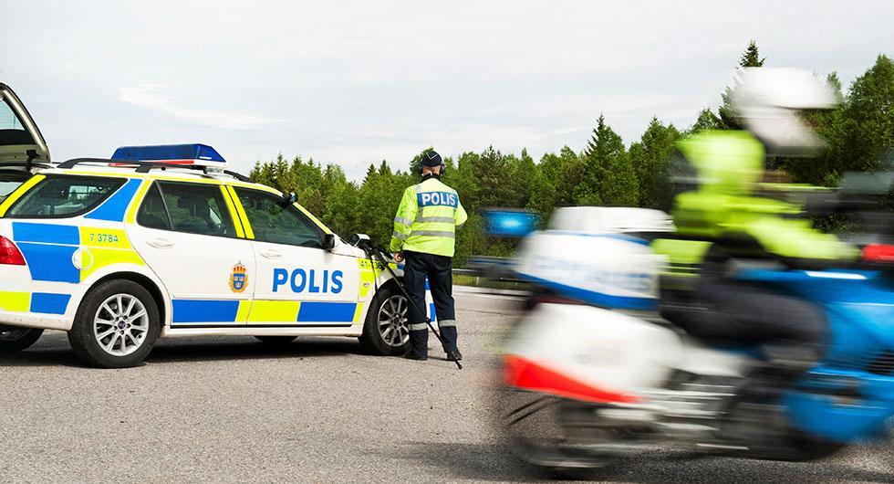 Polisen riktar in sig på mindre fartsynder