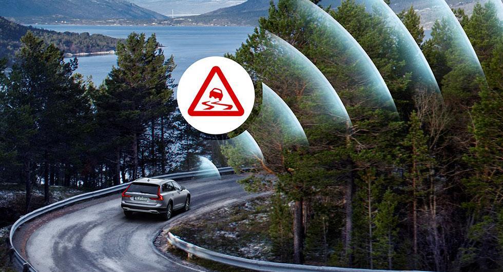 Volvobilar blir halkvarnare åt Trafikverket