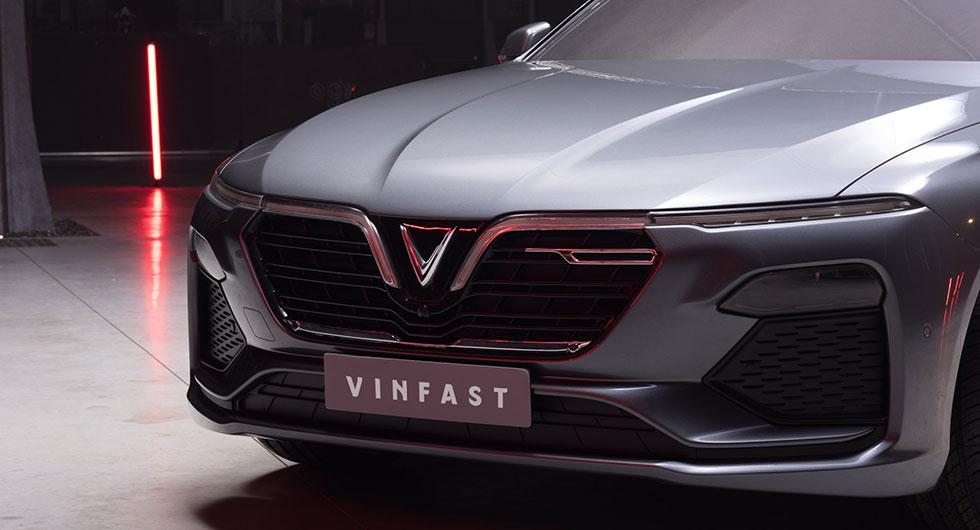 VinFast sedan.