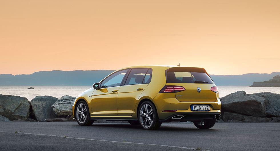 Populäraste bilen i nyregistreringarna för augusti månad: Volkswagen Golf.