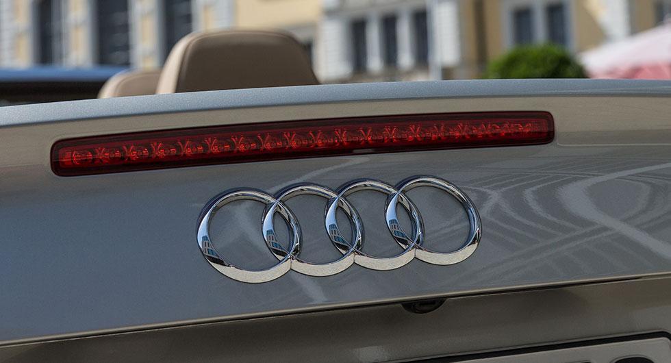 Audi bötfälls för utsläppsfusk