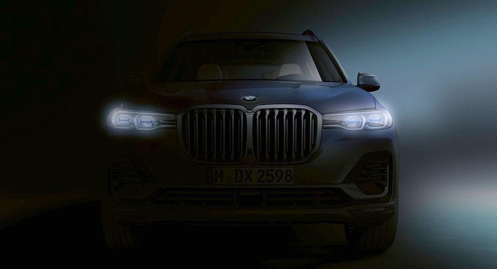 Snart dags för BMW X7