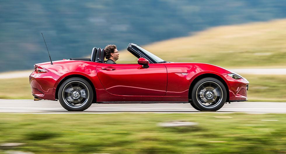 Provkörning: Mazda MX-5 (2018)